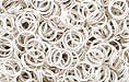 Silver Plate (shiny) Jump Ring, Round, 6mm exterior diameter, 21 gauge, (20 pieces)