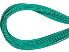Leather, European (Greek), Round Cord, 1.5mm, Aqua, 5-meters, (5-meters length)