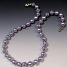 PEARL KNOTTING INSTRUCTIONS DOWNLOAD, 10mm Swarovski Pearls and Silk Bead Cord, (1 unit), (CLICK ADD TO CART BUTTON)