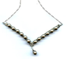 WIRE SPARKLE AND SHINE NECKLACE CLASS  (class and kit)