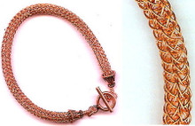 WIRE VIKING KNIT BRACELET CLASS (class and kit)