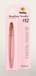 TULIP Beading Needles, Size #12 (1 pkg of 2 needles)