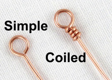 JEWELRY CLINIC Making Simple and Coiled Loops