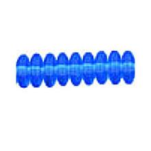 4mm RONDELLE DRUKS (saucer shape), Czech Glass, sapphire, (100 beads)