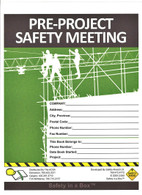 Pre-Project Safety Meeting