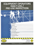 Equipment Operators Daily Log/ Pre-Use Inspection