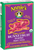 Annie's Organic Bunny Fruit Snacks Berry Patch , 4 oz.