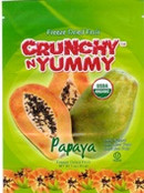 Crunchy n Yummy Organic Freeze Dried Fruit Papaya, 1 oz.