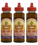 Madhava Organic Agave Nectar Amber, 11.75 oz. (Pack of 3) - FREE Shipping