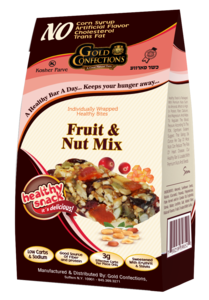 is fruit and nut mix healthy list of fruit