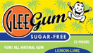 Glee Gum All Natural Sugar Free Gum Lemon Lime