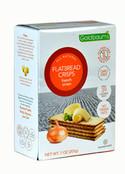 Goldbaums Gluten Free Flatbread Crisps French Onion