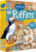 Barbara's Bakery Puffins Cereal Honey Rice