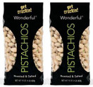 Wonderful Pistachios Roasted Salted, 16 oz. (Pack of 2)