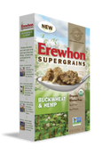 Erewhon Supergrains Buckwheat & Hemp Gluten Free Cereal, 10 oz.