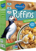 Barbara's Bakery Puffins Cereal Multigrain, 10 oz.