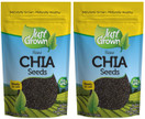 Just Grown Raw Chia Seeds, 12 oz. (Pack of 2) - FREE Shipping