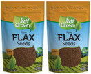 Just Grown Raw Flax Seeds 2 pack
