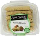 Aunt Gussie's Spelt Sugar Free Hazelnut Biscotti