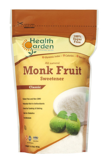 what fruit is healthy is monk fruit sweetener healthy