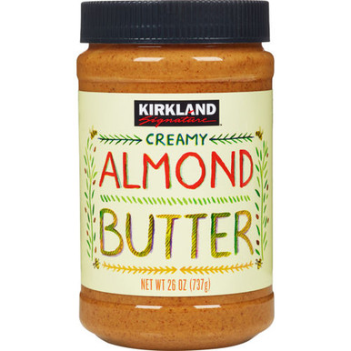 Kirkland Creamy Almond Butter, 27 oz. - Whole And Natural