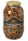 Utz Multigrain Organic Pretzel Rings, 37 oz.