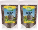 Just Grown Raw Bulk Chia Seeds  2 Pack