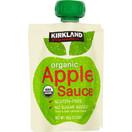 Kirkland Organic Apple Sauce, 3.17 oz. (Pack of 24)