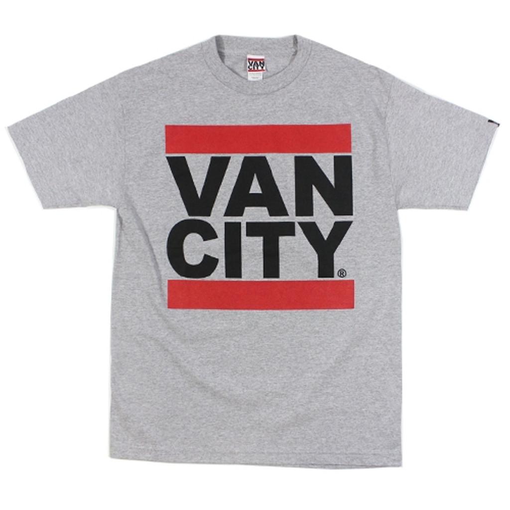 Vancity Original UnDMC Heather Grey Classic Tee Shirt