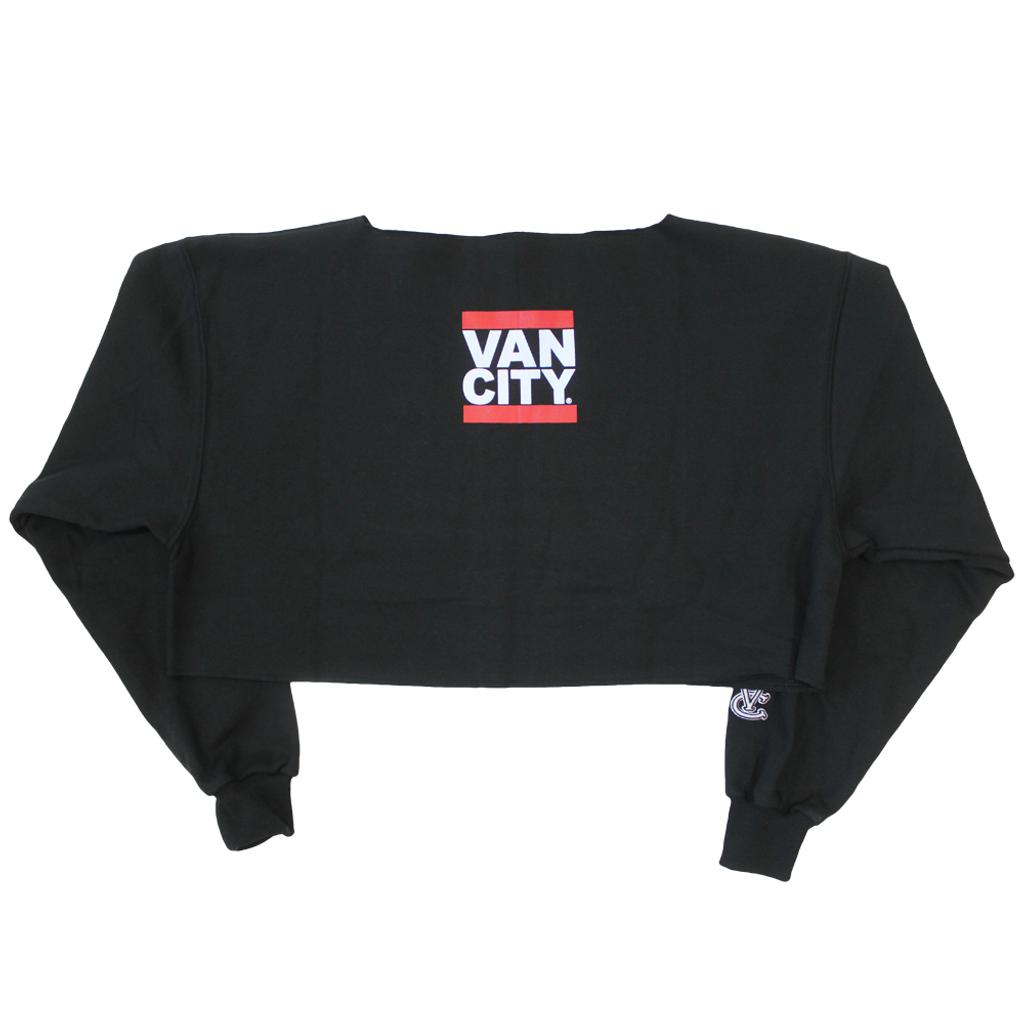 UnDMC Crop Sweatshirt - Black