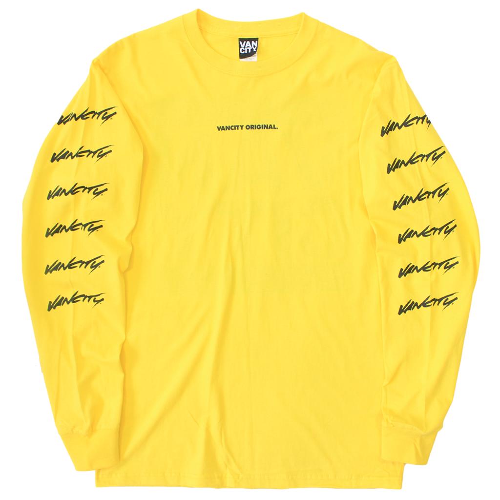 Surf Long Sleeve Tee - Yellow