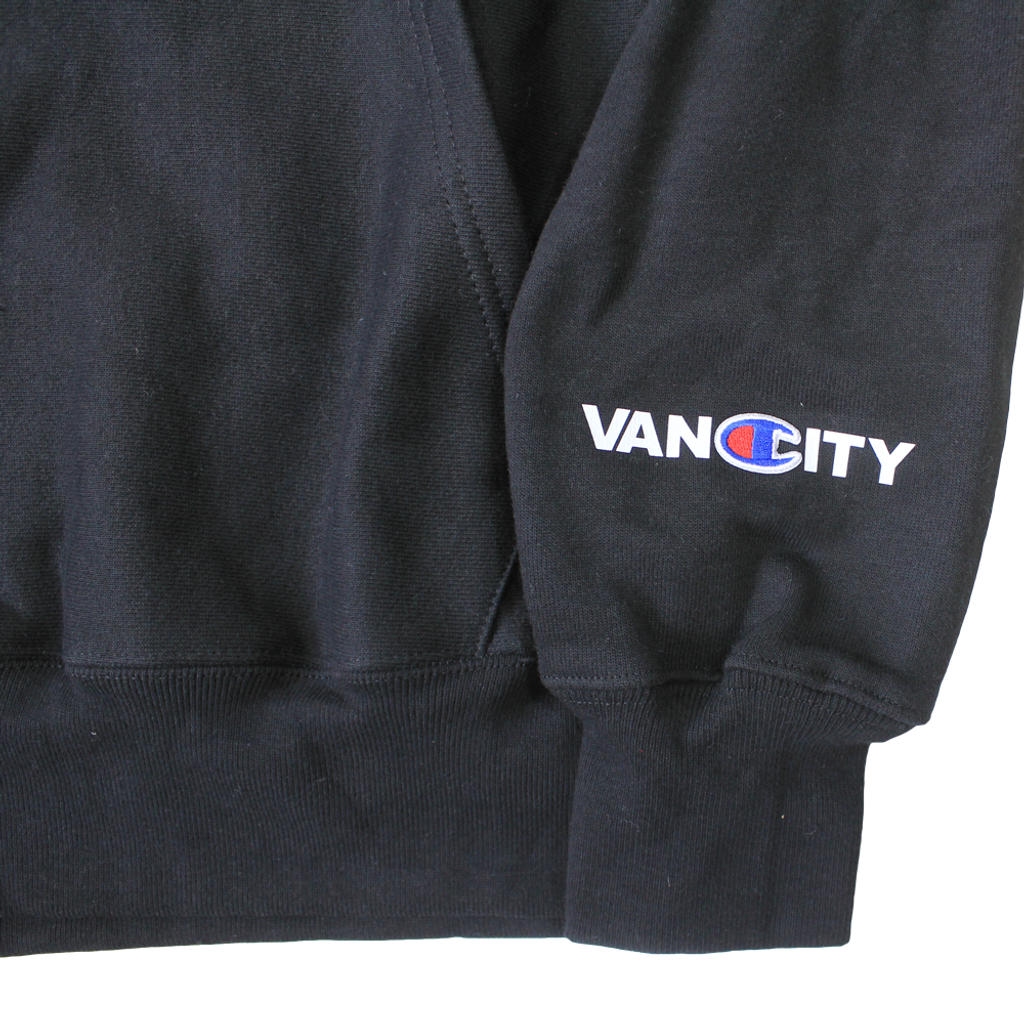 Vancity® x Champion Reverse Weave Hoodie - Black