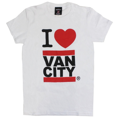 I Heart Vancity White Tee Shirt