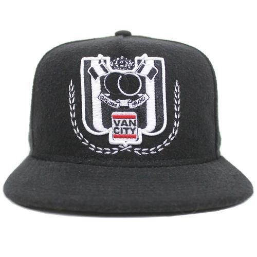 Vancity Original 15th Year Anniversary Premium Label Black Snapback