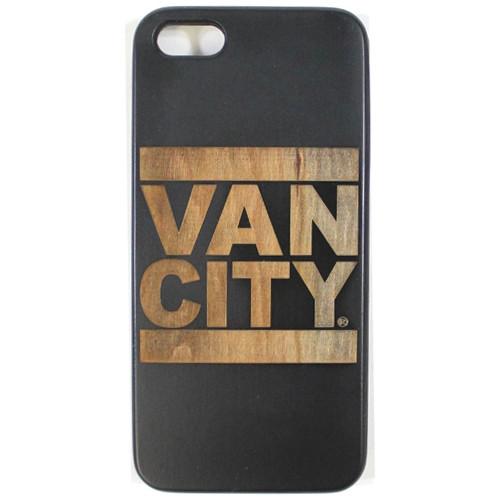 Vancity Original Brand x Good Wood Black iPhone Case