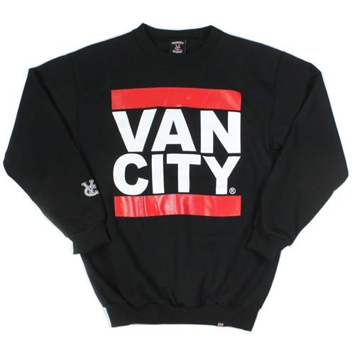 Vancity Original Heavy Weight UnDMC Black Classic Crewneck