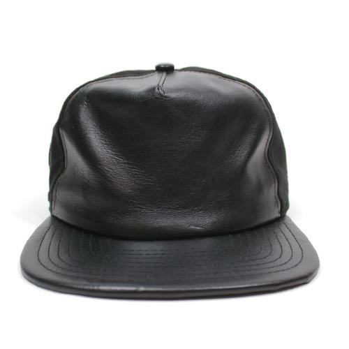 Vancity Original® x New Era Leather Vanarchy Snapback - Black