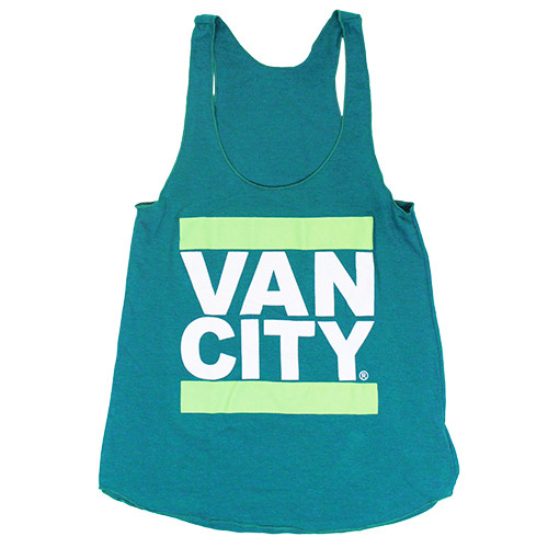 UnDMC Women's Tri-Blend Racerback Tank Top - Green