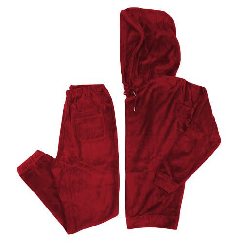 Vancity Original® Game Changers Velour Suit in Ox Red - Set