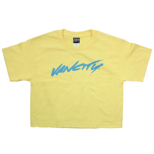 Vancity® Surf Crop Tee - Banana