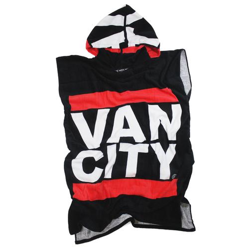 Vancity® Après Surf Poncho - Black