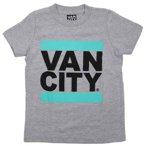Toddler UnDMC Tee - Heather Grey/Teal