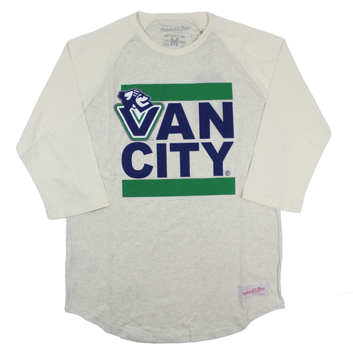 Johnny Vancity® Raglan Tee - Mountain Snow