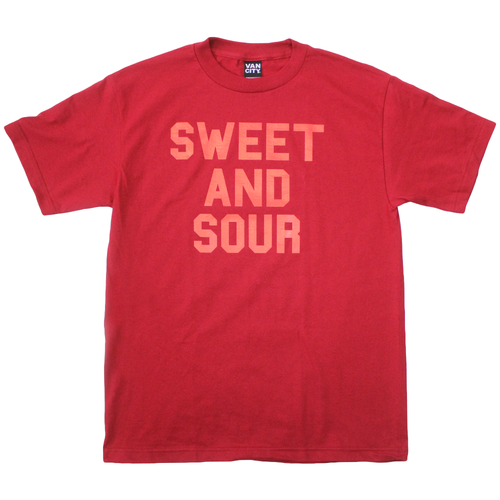 Hon's x Vancity® Sweet And Sour Tee - Cran