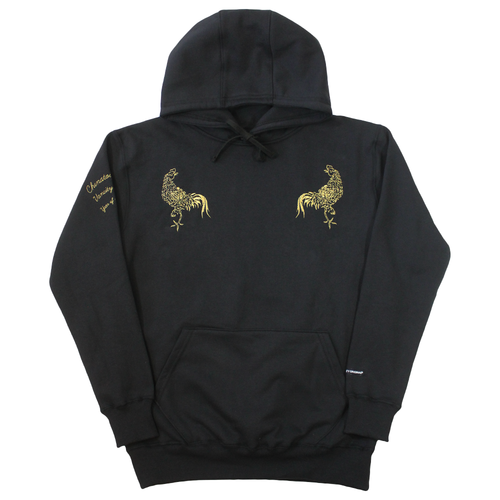 24K Rooster Hoodie - Black