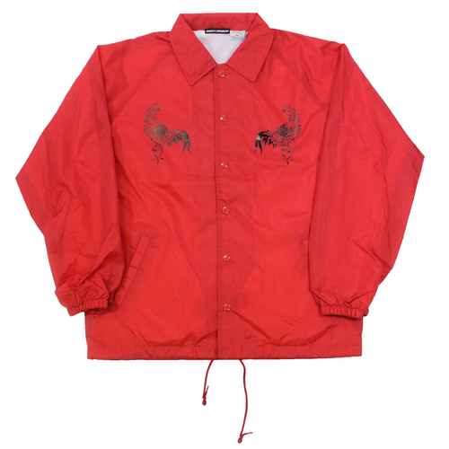 Rooster Coach Jacket - Red