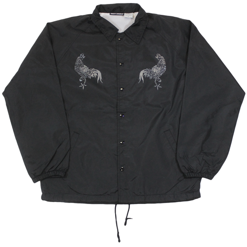 Rooster Coach Jacket - Black