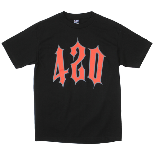 420 Trap Tee- Black