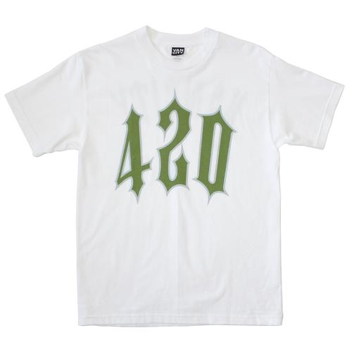 420 Trap Tee- White