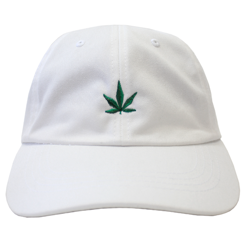Medicated Dad Hat - White